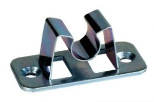 JR Products 10394PW Polar White Replacement C-Clips 2pk