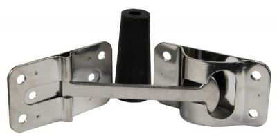"""Jr Products 10625 6/"""" 90° T-Style Door Holder Black"""