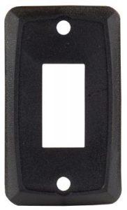 Black Switch Plate