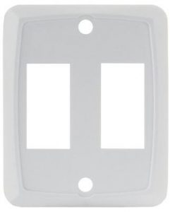Double Switch Plate Face