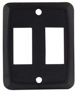 Double Switch Face Plate