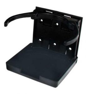 Black Adjustable Cup Holder