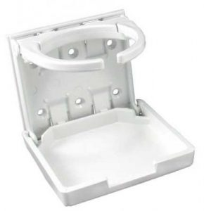 White Cup Holder