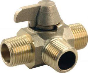 JR Products Brass Diverter Valve