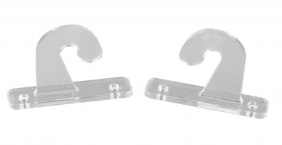 JR Products 81645 Mini Blind Hold Down Hook-Style