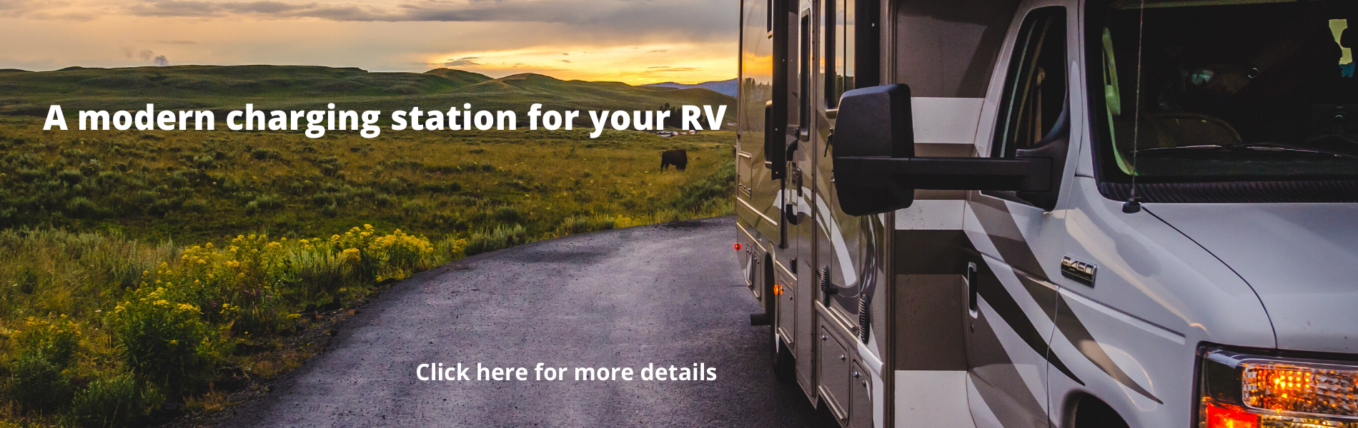 A modern charging station for your RV